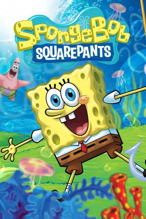 Губка Боб квадратные штаны. Обложка с сайта amazon.co.uk