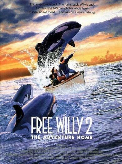 Освободите Вилли 2: Новое приключение. Обложка с сайта kinopoisk.ru