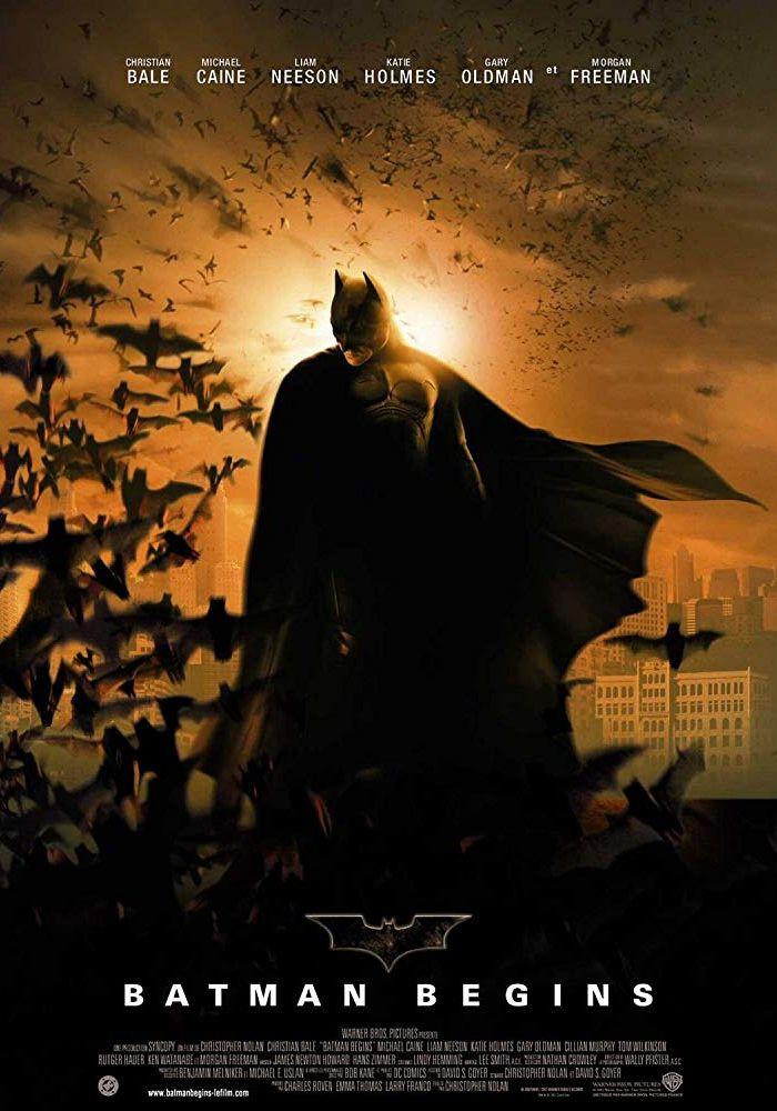 Бэтмэн: Начало. Обложка с сайта blu-ray.com