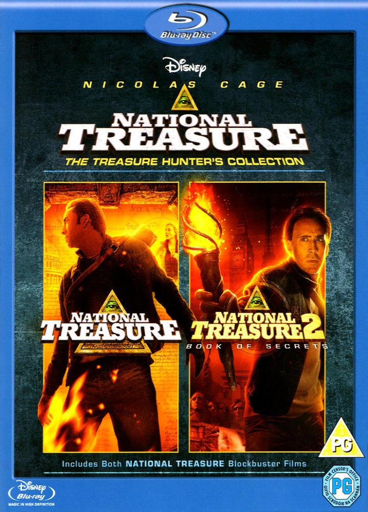 Сокровище нации: Книга Тайн. Обложка с сайта kinopoisk.ru
