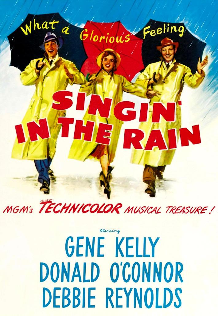 Поющие под дождем. Обложка с сайта amazon.co.uk