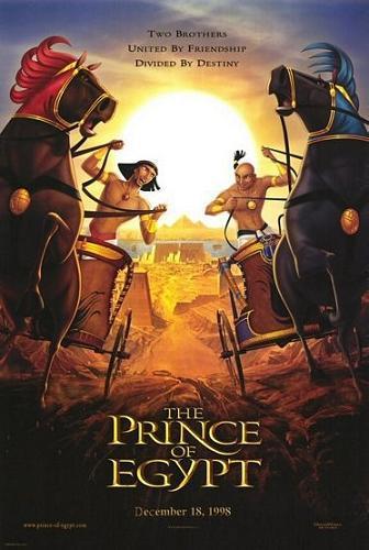Принц Египта. Обложка с сайта amazon.de