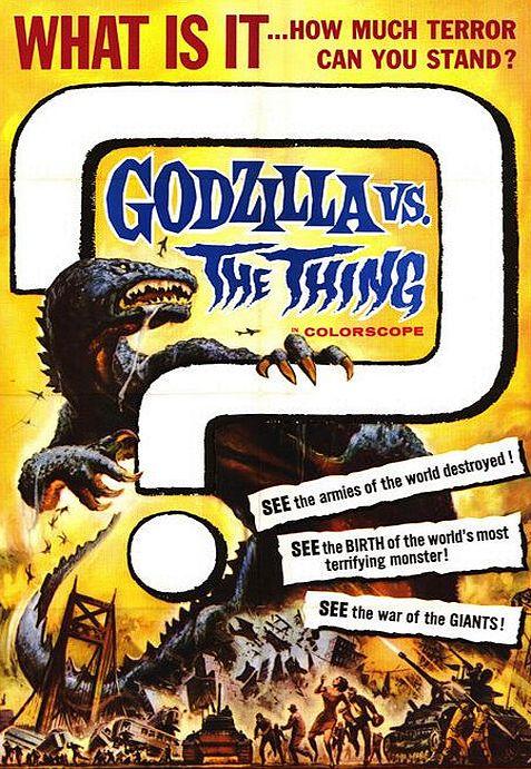 Годзилла против Мотры. Обложка с сайта kino-govno.com