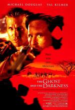 Призрак и тьма. Обложка с сайта kino-govno.com