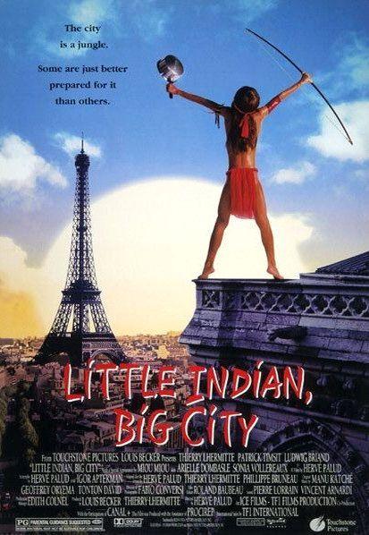 Индеец в Париже. Обложка с сайта imagepost.ru