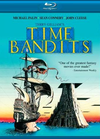 Бандиты времени. Обложка с сайта amazon.de