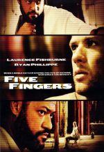Пять пальцев. Обложка с сайта amazon.com
