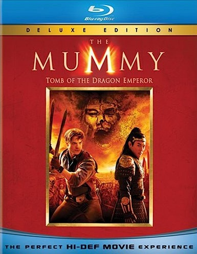 Мумия: Гробница Императора Драконов. Обложка с сайта blu-ray.com