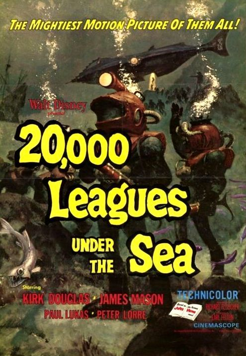 20000 лье под водой. Обложка с сайта amazon.de