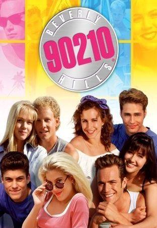 Беверли-Хиллз 90210. Обложка с сайта amazon.com