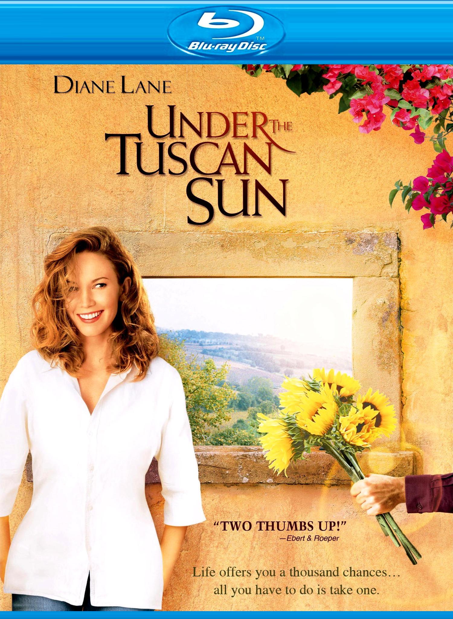 Под солнцем Тосканы. Обложка с сайта amazon.com