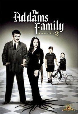 Семейка Аддамс. Обложка с сайта amazon.com
