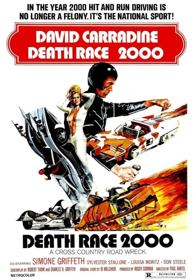 Смертельные гонки 2000 года. Обложка с сайта kinopoisk.ru
