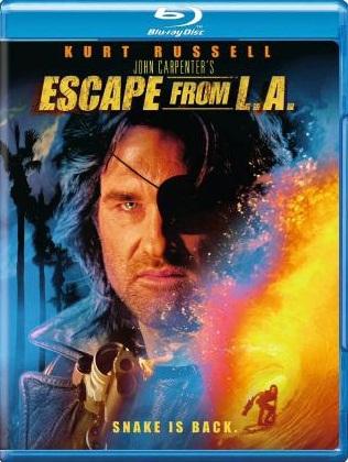Побег из Лос-Анджелеса. Обложка с сайта kinopoisk.ru