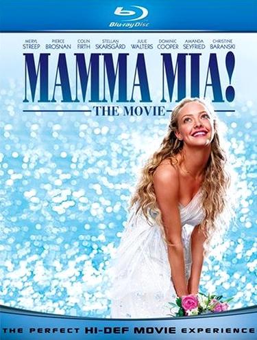 Мамма MIA!. Обложка с сайта blu-ray.com