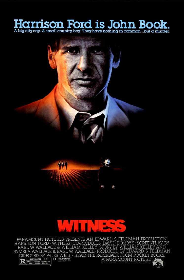 Свидетель. Обложка с сайта amazon.co.uk