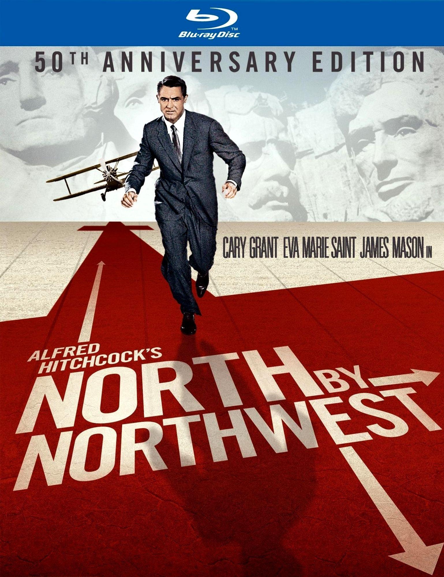 К северу через северо-запад. Обложка с сайта era-hd.ru