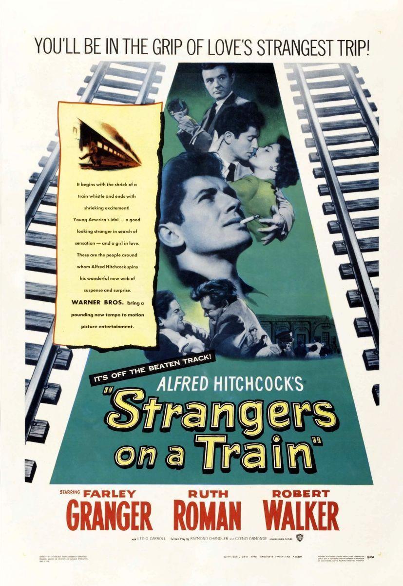 Незнакомцы в поезде. Обложка с сайта amazon.co.uk