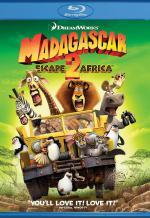 Мадагаскар 2. Обложка с сайта blu-ray.com