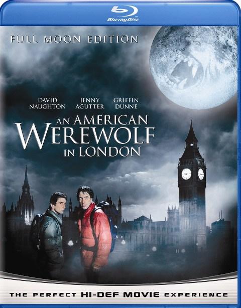 Американский оборотень в Лондоне. Обложка с сайта kino-govno.com
