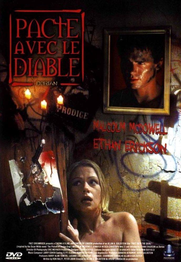 Дориан Грей. Дьявольский портрет. Обложка с сайта kino-govno.com