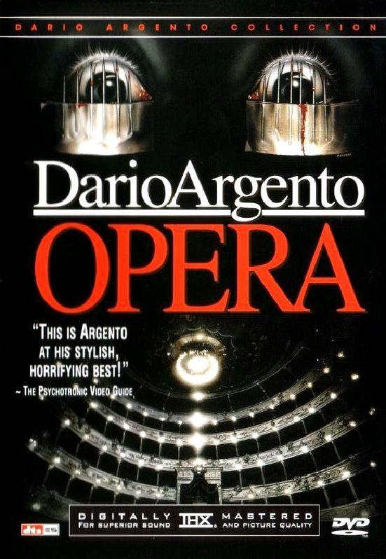Ужас в опере. Обложка с сайта amazon.de