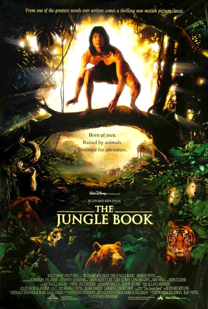 Книга джунглей. Обложка с сайта imagepost.ru