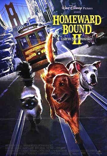Дорога домой 2: Затерянные в Сан-Франциско. Обложка с сайта kino-govno.com