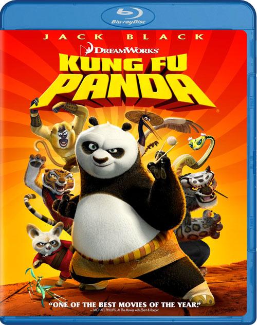 Кунг-фу Панда. Обложка с сайта blu-ray.com