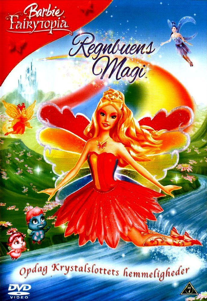 Барби: Сказочная страна. Волшебная радуга. Обложка с сайта amazon.com