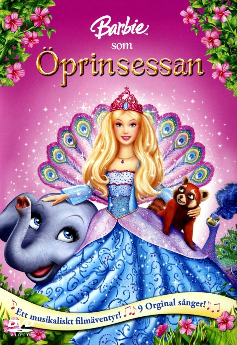 Барби в роли Принцессы Острова. Обложка с сайта radikal.ru