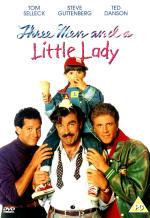 Трое мужчин и маленькая леди. Обложка с сайта amazon.com
