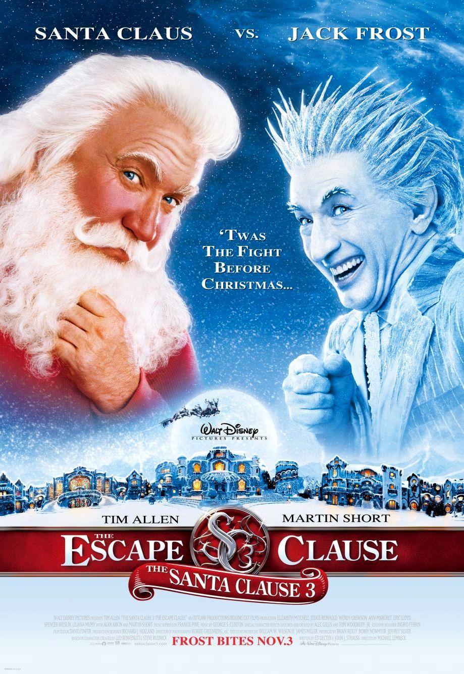 Санта Клаус 3. Обложка с сайта kinopoisk.ru