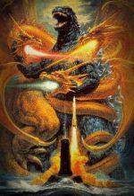 Годзилла против Кинга Гидоры. Обложка с сайта amazon.co.uk