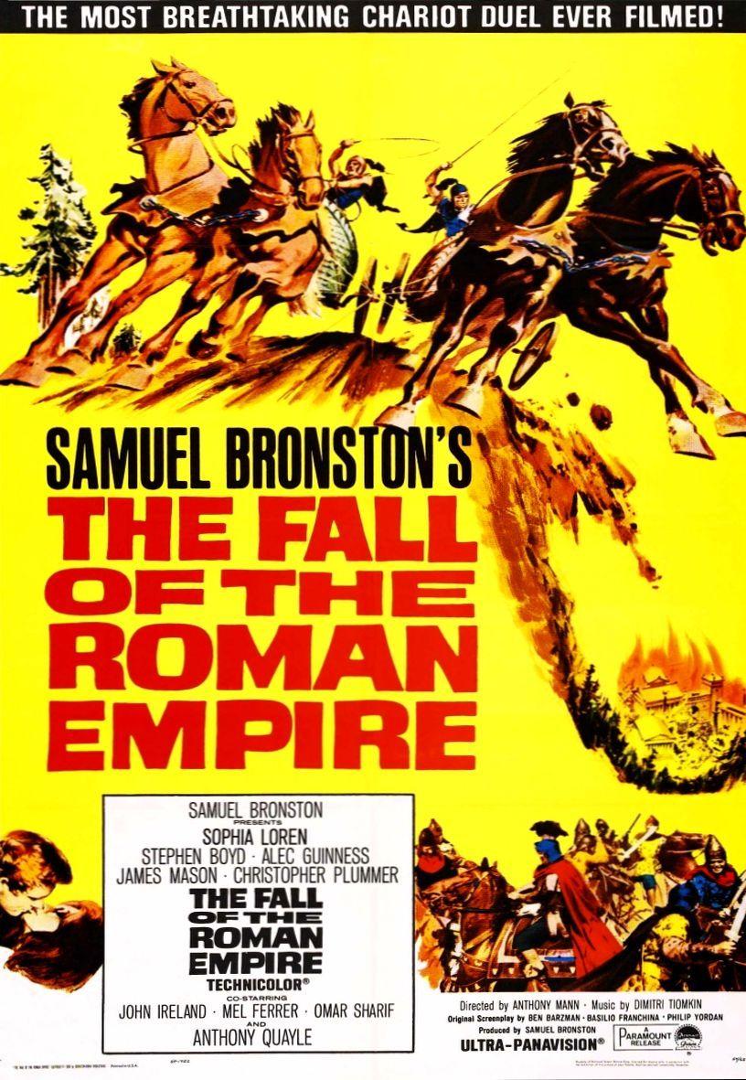 Падение Римской империи. Обложка с сайта imagepost.ru