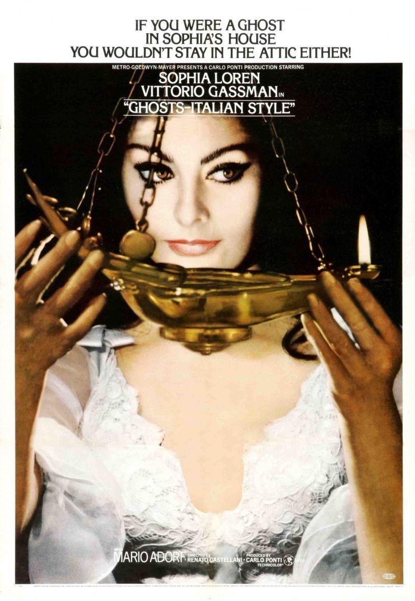 Привидения по-итальянски. Обложка с сайта kino-govno.com