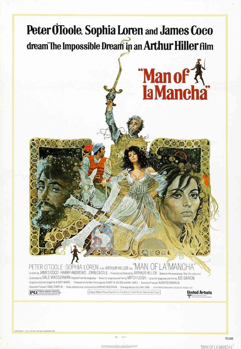 Человек из Ла Манчи. Обложка с сайта kino-govno.com