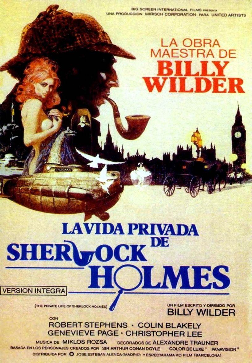 Частная жизнь Шерлока Холмса. Обложка с сайта kino-govno.com
