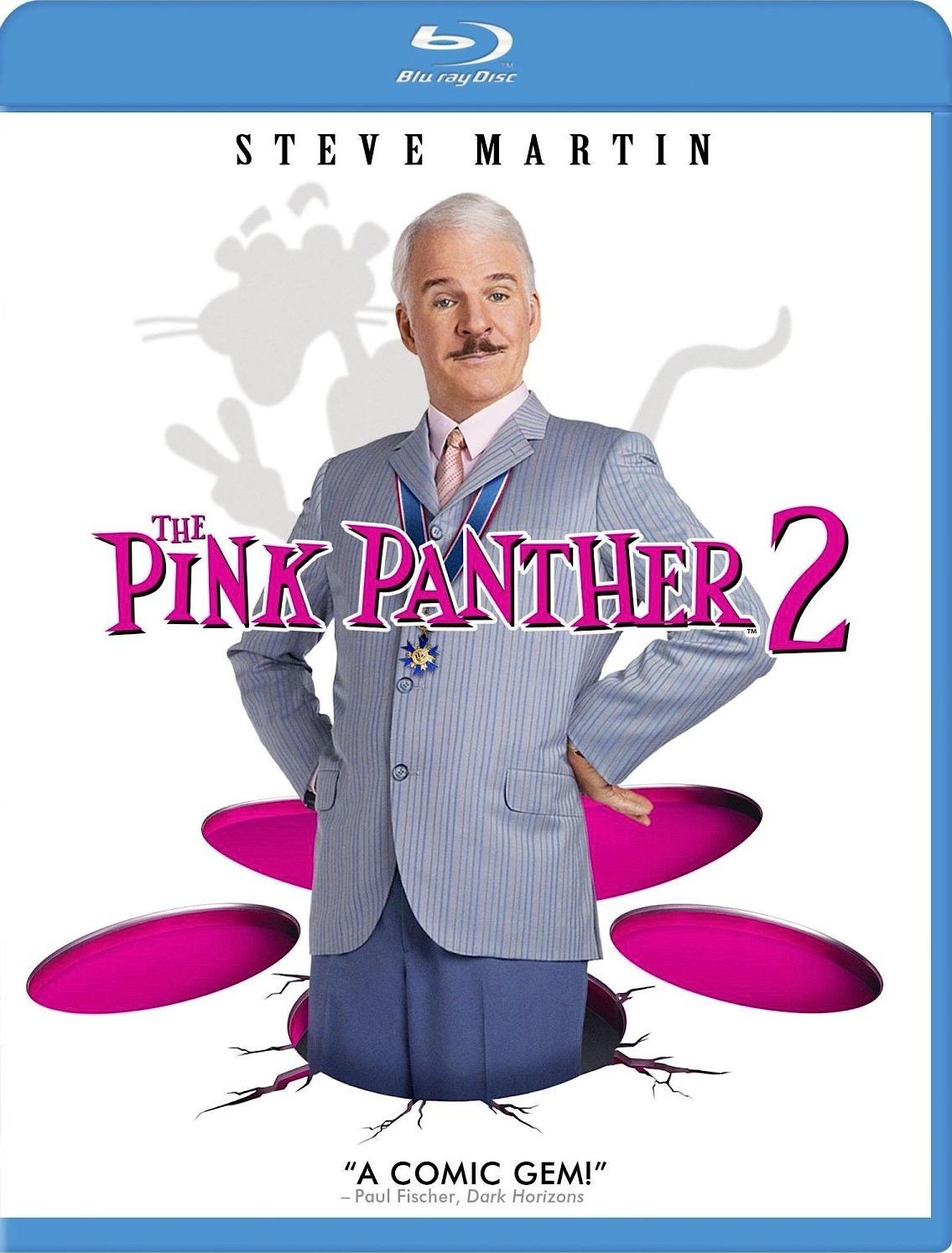 Розовая пантера 2. Обложка с сайта blu-ray.com