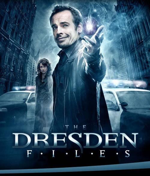 Детектив Дрезден: Секретные материалы. Обложка с сайта amazon.de
