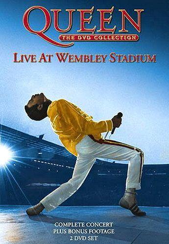 Queen. Live At Wembley. Обложка с сайта amazon.de