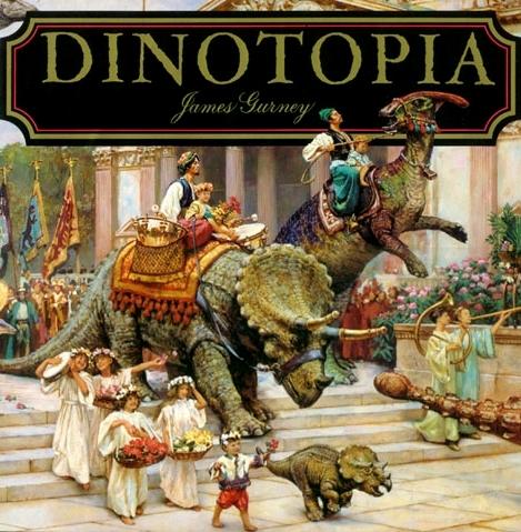 Динотопия. Обложка с сайта amazon.de