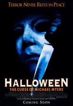 Хэллоуин 6: Проклятие Майкла Майерса. Обложка с сайта imageshost.ru