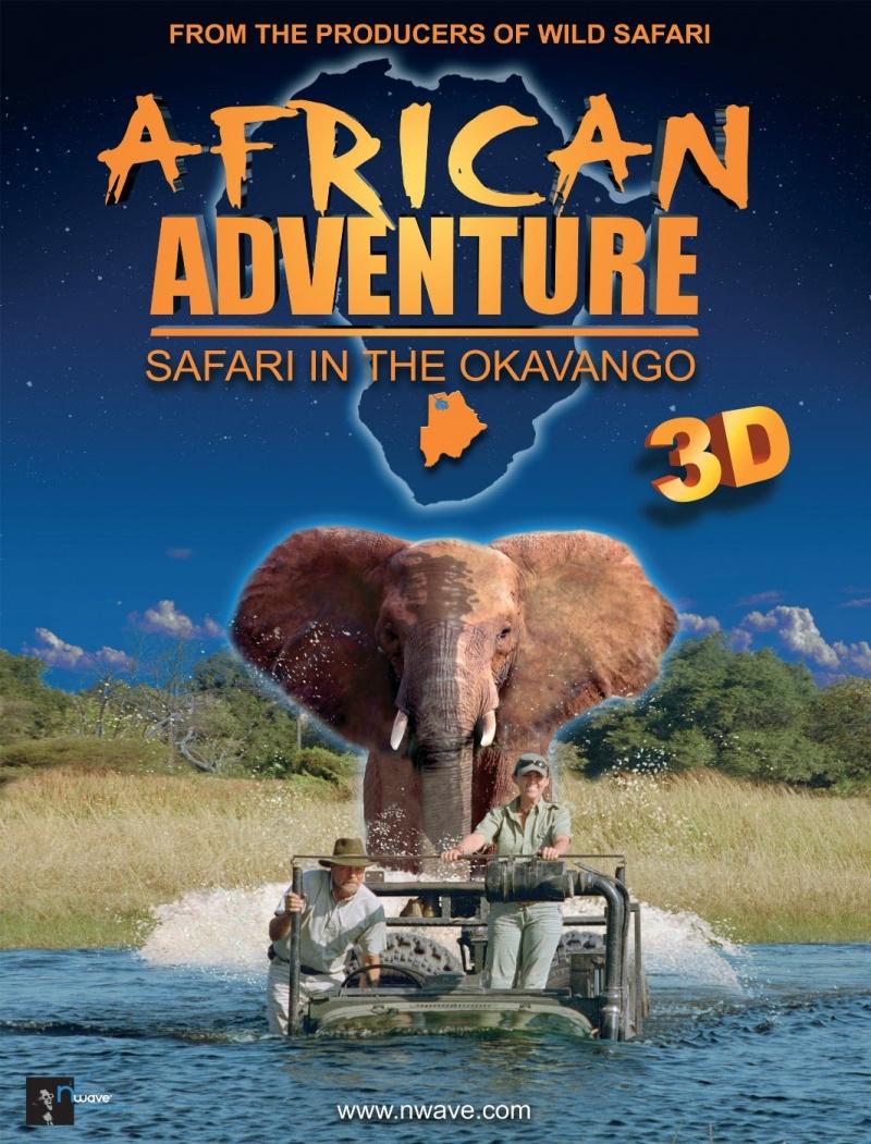 Окаванго. Африканское сафари. Постер с сайта radikal.ru
