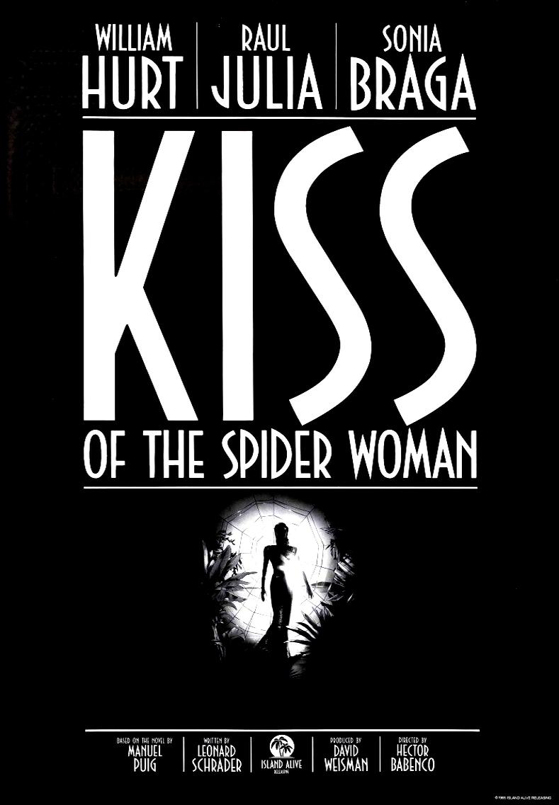 Поцелуй женщины-паука. Обложка с сайта radikal.ru