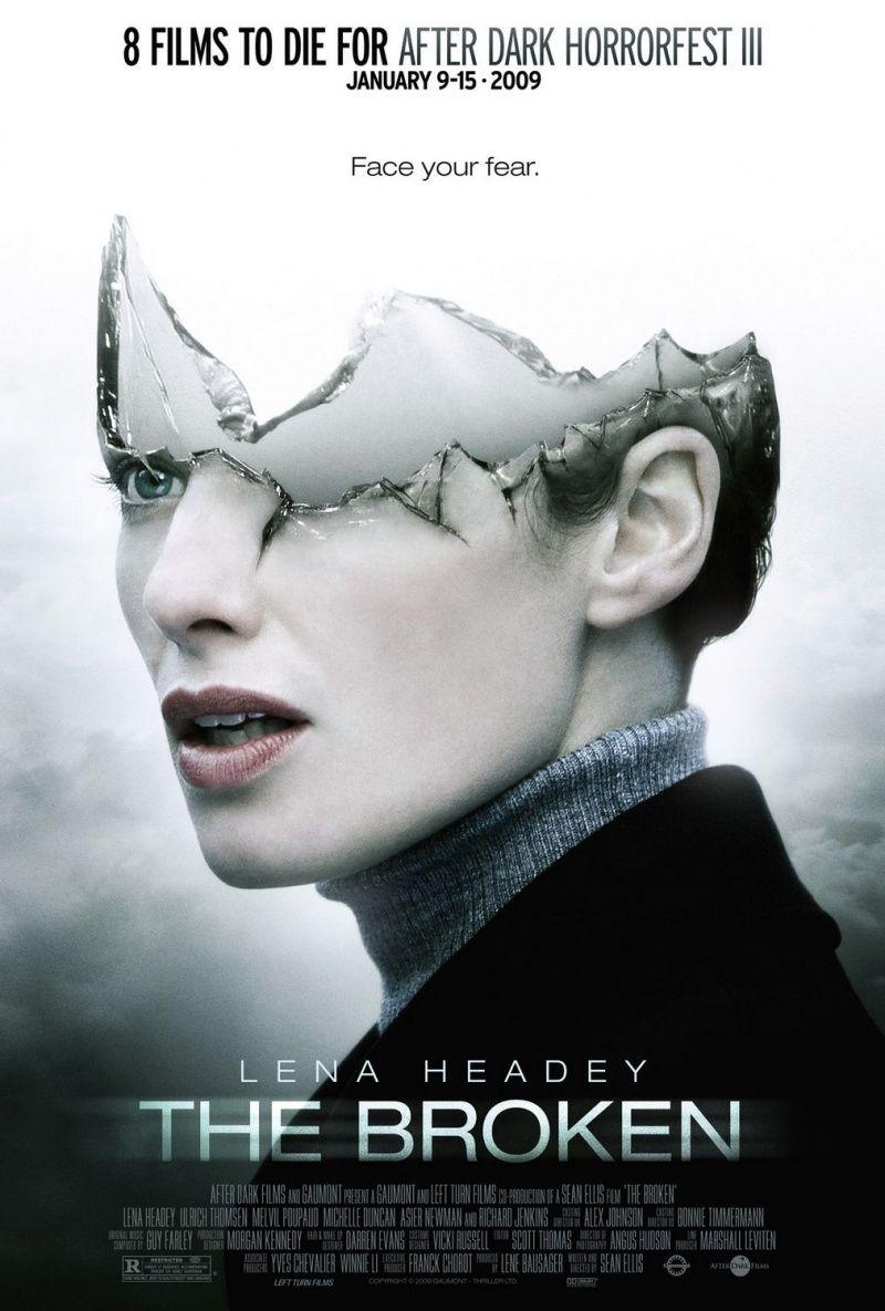 Отражение / Разбитое зеркало. Постер с сайта kinopoisk.ru
