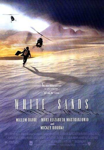 Белые пески. Обложка с сайта amazon.com