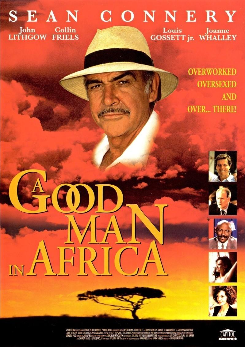 Хороший человек в Африке. Обложка с сайта kinopoisk.ru