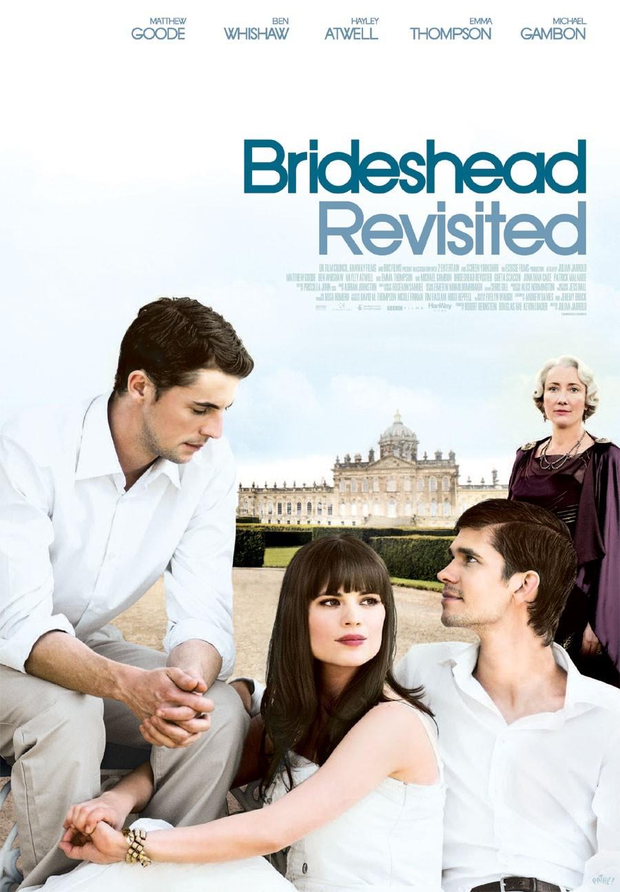 Возвращение в Брайдсхед. Обложка с сайта amazon.co.uk