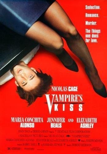 Поцелуй вампира. Обложка с сайта amazon.co.uk